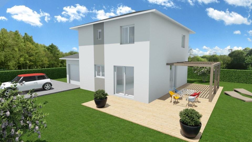 Maisons + Terrains du constructeur MAISONS FRANCE CONFORT • 90 m² • APPRIEU