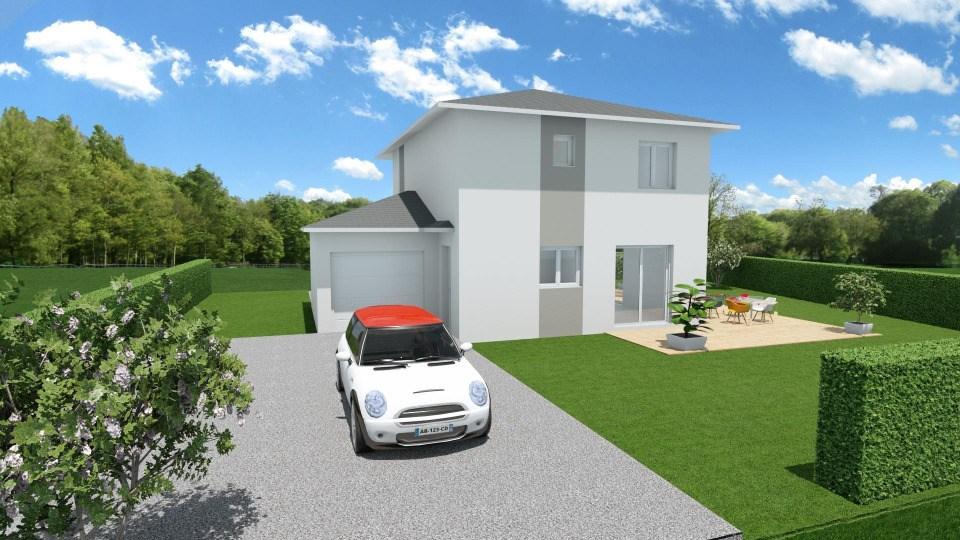 Maisons + Terrains du constructeur MAISONS FRANCE CONFORT • 85 m² • COLOMBE