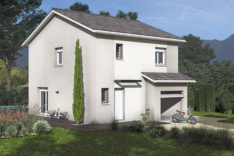 Maisons + Terrains du constructeur MAISONS FRANCE CONFORT • 100 m² • TULLINS