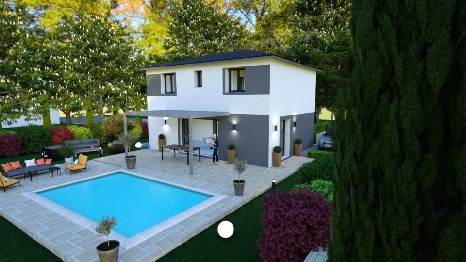 Maisons + Terrains du constructeur MAISONS FRANCE CONFORT • 100 m² • GRIMAUD