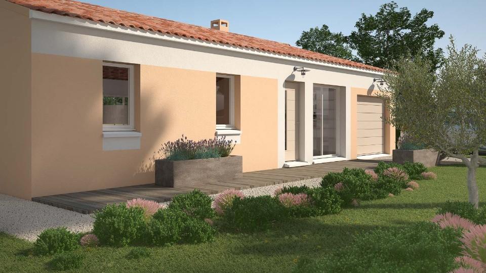 Maisons + Terrains du constructeur MAISONS FRANCE CONFORT • 76 m² • TOURRETTES