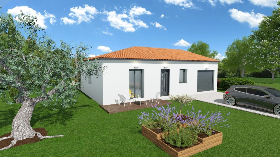 Maisons + Terrains du constructeur MAISONS FRANCE CONFORT • 80 m² • SURY LE COMTAL