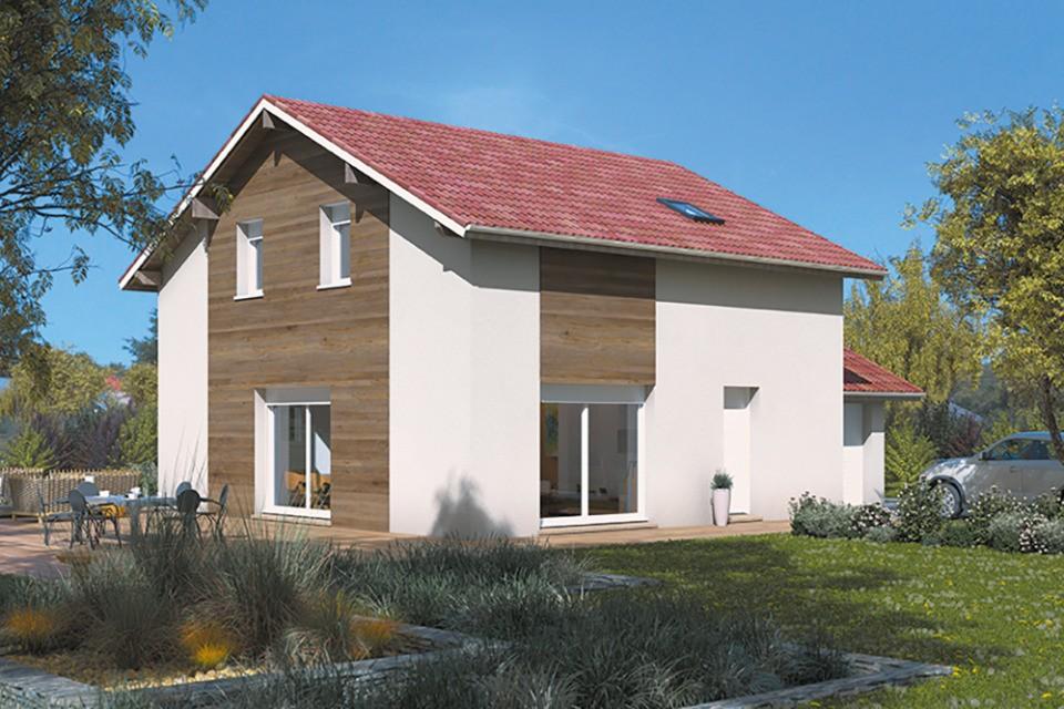 Maisons + Terrains du constructeur MAISONS FRANCE CONFORT • 100 m² • BOEN