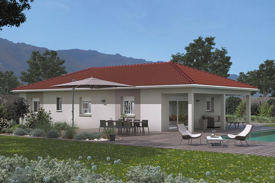 Maisons + Terrains du constructeur MAISONS FRANCE CONFORT • 95 m² • BOEN