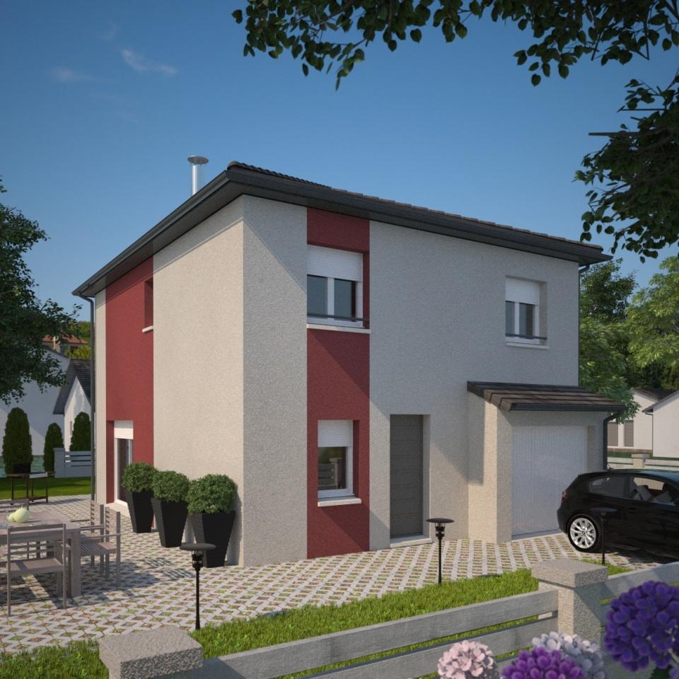 Maisons + Terrains du constructeur MAISONS FRANCE CONFORT • 100 m² • BELLEVILLE