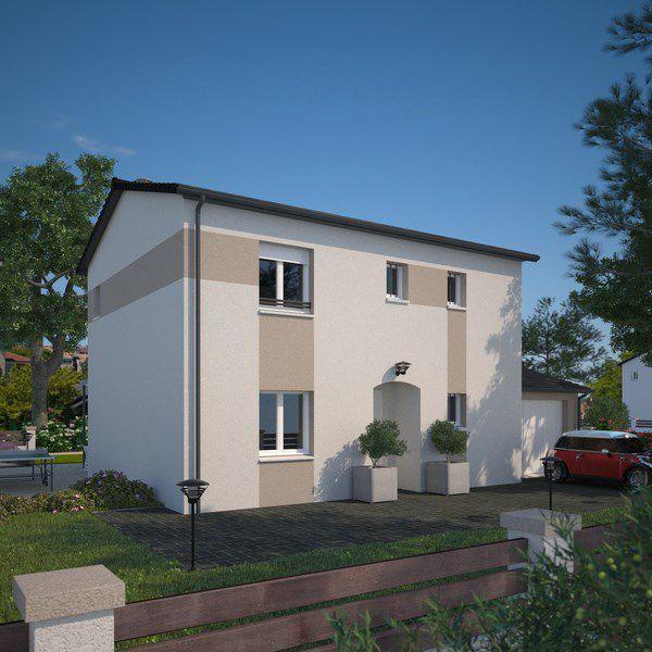 Maisons + Terrains du constructeur MAISONS FRANCE CONFORT • 95 m² • PONT DE VAUX