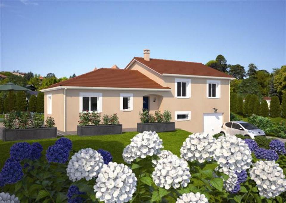 Maisons + Terrains du constructeur MAISONS FRANCE CONFORT • 112 m² • BEAUJEU