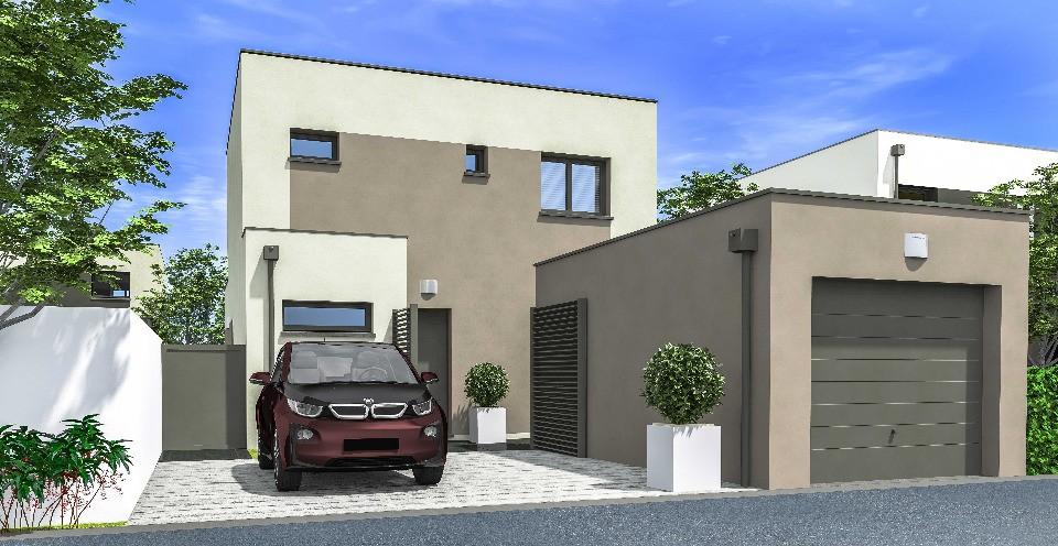 Maisons + Terrains du constructeur MAISONS FRANCE CONFORT • 90 m² • MIONNAY