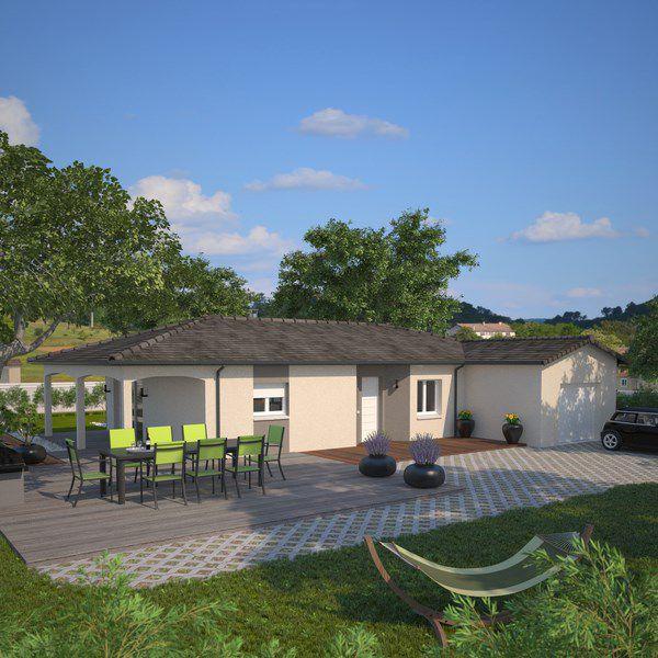 Maisons + Terrains du constructeur MAISONS FRANCE CONFORT • 100 m² • PONT DE VAUX