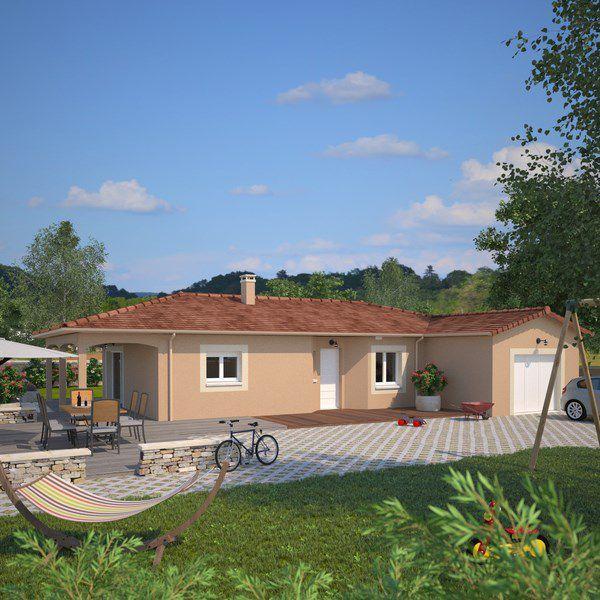 Maisons + Terrains du constructeur MAISONS FRANCE CONFORT • 100 m² • LES OLMES