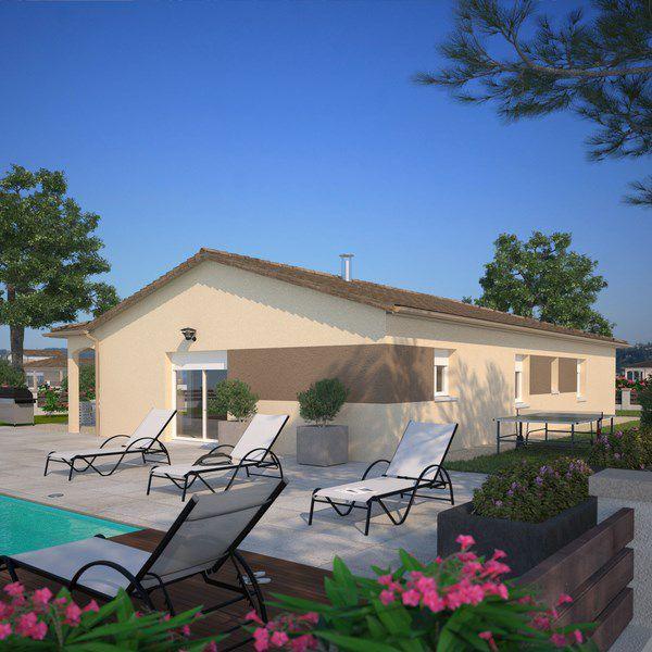 Maisons + Terrains du constructeur MAISONS FRANCE CONFORT • 80 m² • LES OLMES