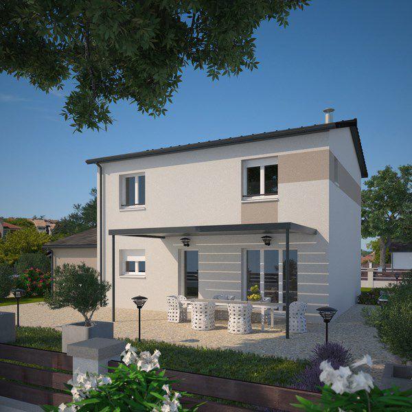 Maisons + Terrains du constructeur MAISONS FRANCE CONFORT • 95 m² • BELLEVILLE