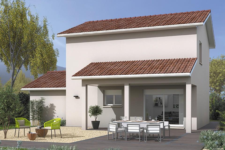 Maisons + Terrains du constructeur MAISONS FRANCE CONFORT • 90 m² • BELLEVILLE