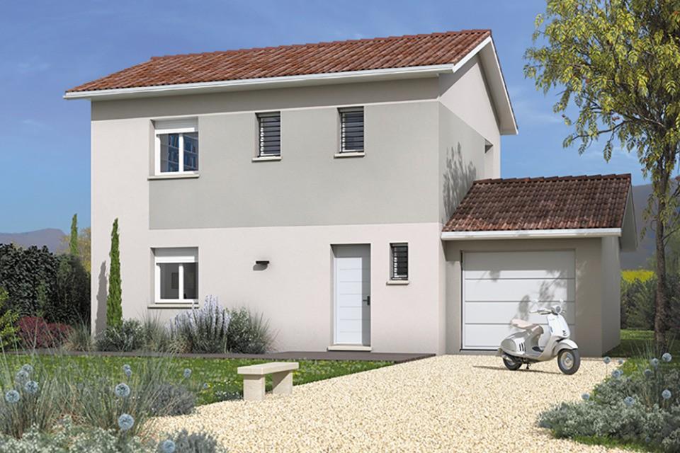 Maisons + Terrains du constructeur MAISONS FRANCE CONFORT • 95 m² • VILLEFRANCHE SUR SAONE