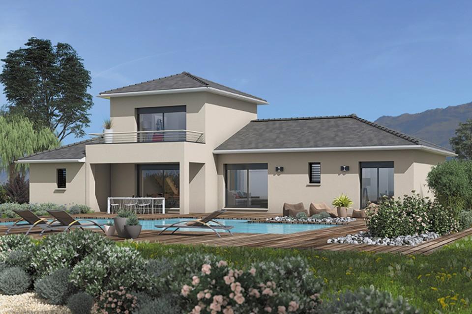 Maisons + Terrains du constructeur MAISONS FRANCE CONFORT • 125 m² • BELLEVILLE