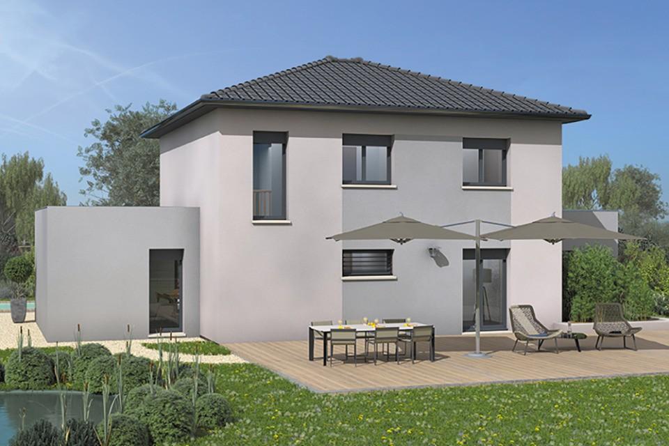Maisons + Terrains du constructeur MAISONS FRANCE CONFORT • 140 m² • BELLEVILLE