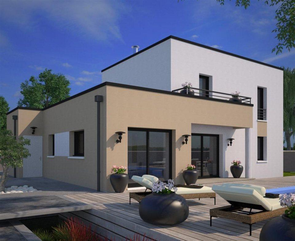 Maisons + Terrains du constructeur MAISONS FRANCE CONFORT • 110 m² • CANTIN