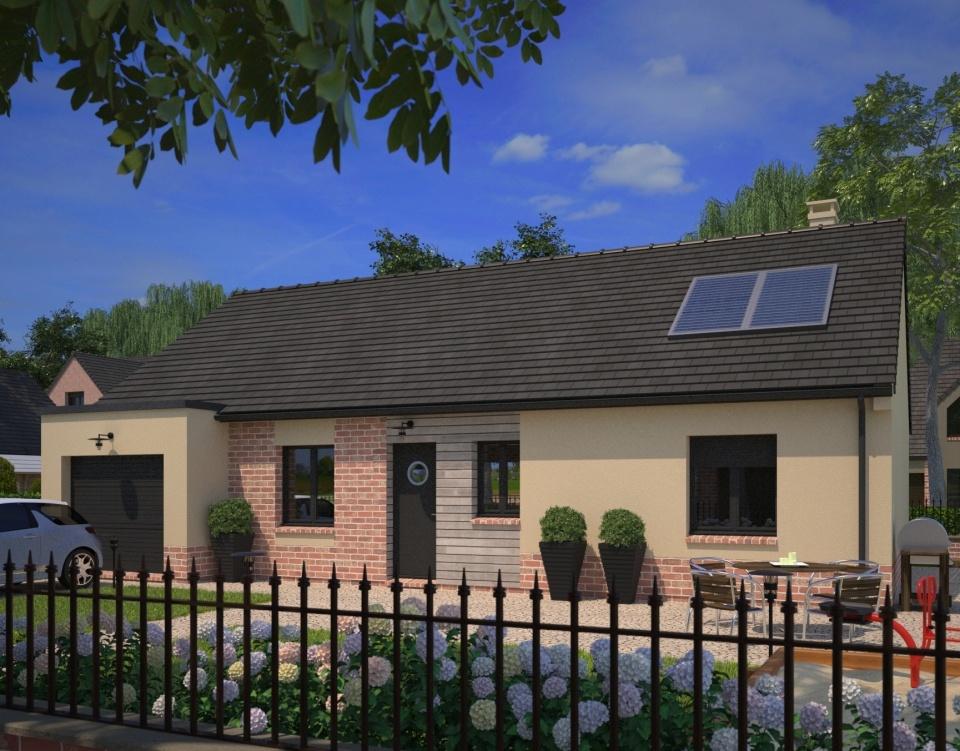 Maisons + Terrains du constructeur MAISONS FRANCE CONFORT • 90 m² • ROOST WARENDIN