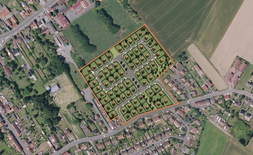 Terrains du constructeur MAISONS FRANCE CONFORT • 639 m² • ORCHIES