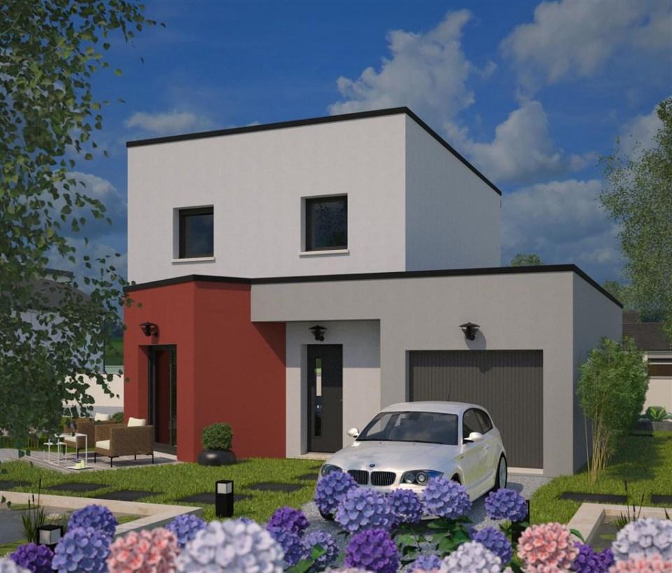 Maisons + Terrains du constructeur MAISONS FRANCE CONFORT • 88 m² • NOMAIN