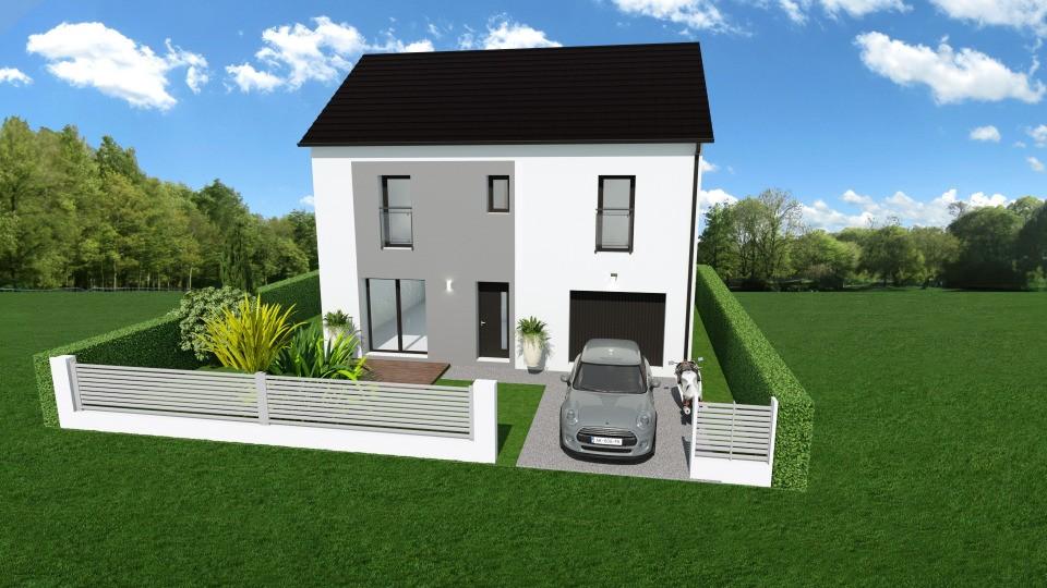 Maisons + Terrains du constructeur MAISONS FRANCE CONFORT • 109 m² • SAINT AUBIN LES ELBEUF