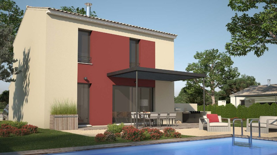 Maisons + Terrains du constructeur MAISONS FRANCE CONFORT • 82 m² • GIGEAN