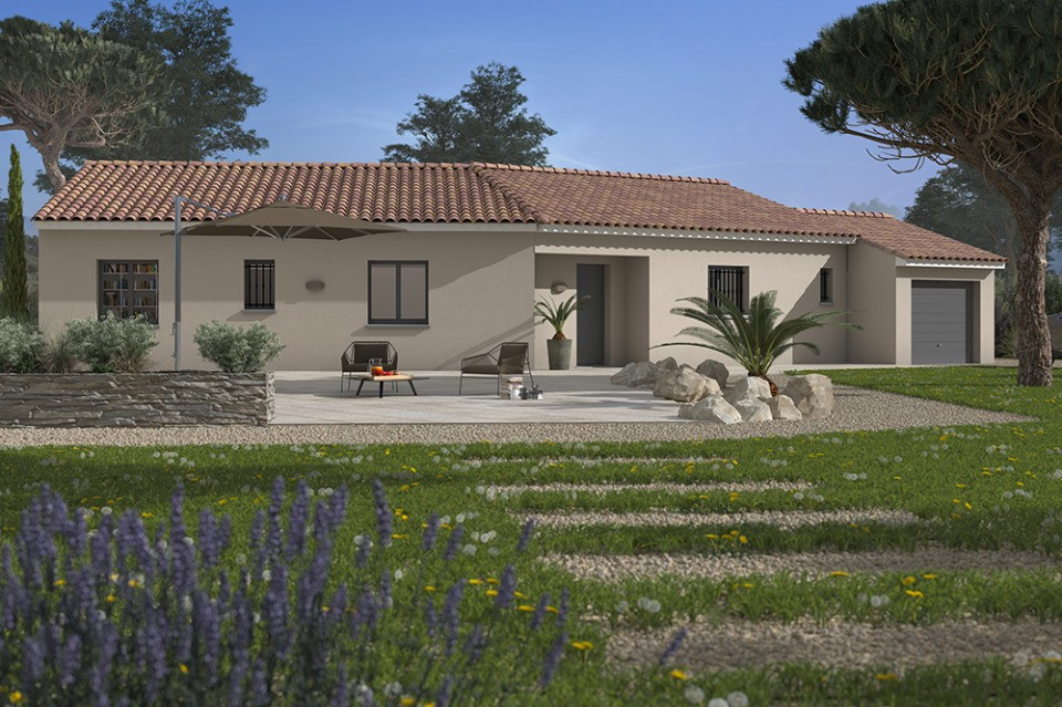 Maisons + Terrains du constructeur MAISONS FRANCE CONFORT • 100 m² • LE TRIADOU