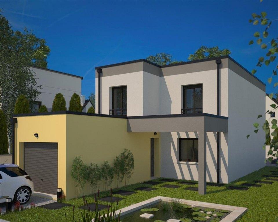 Maisons + Terrains du constructeur MAISONS FRANCE CONFORT • 94 m² • MELUN
