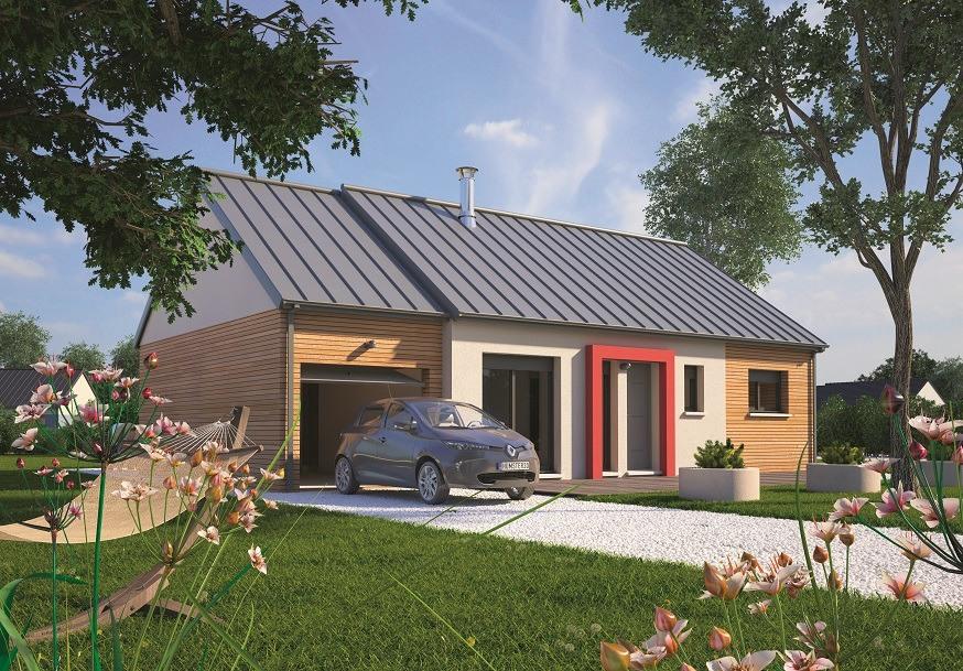 Maisons + Terrains du constructeur MAISONS BALENCY • 70 m² • FONTAINEBLEAU