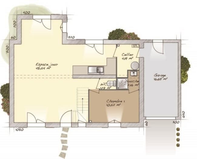 Maisons + Terrains du constructeur MAISONS BALENCY • 114 m² • GARGENVILLE