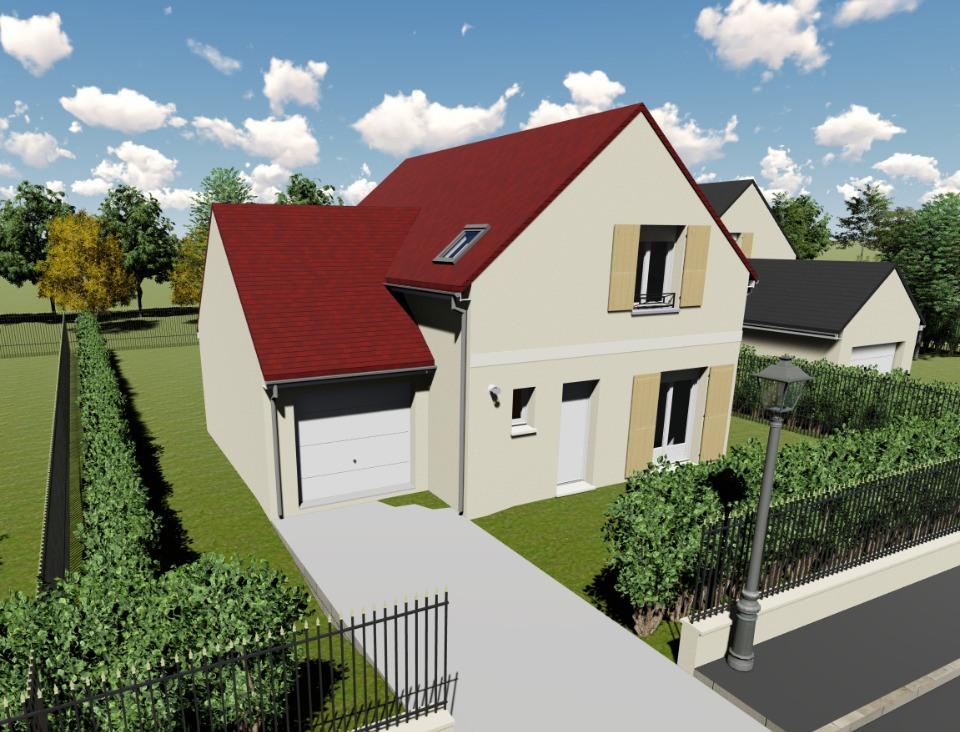 Maisons + Terrains du constructeur MAISONS BALENCY • 83 m² • TACOIGNIERES