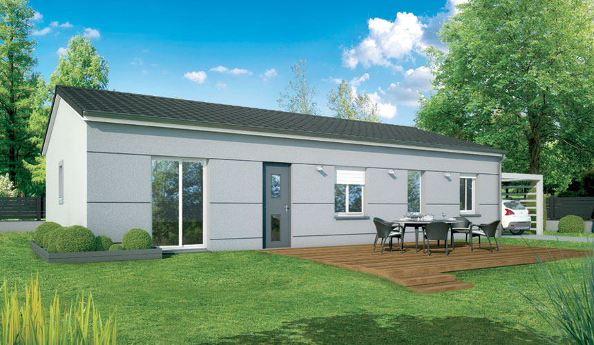 Maisons + Terrains du constructeur MAISONS SANEM • 73 m² • VILLENAVE D'ORNON