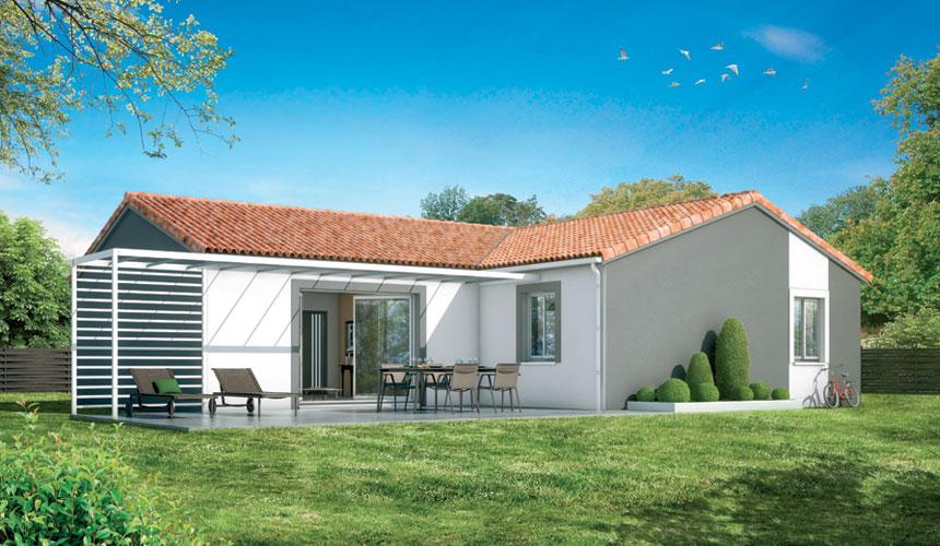 Maisons + Terrains du constructeur MAISONS SANEM • 87 m² • GAURIAGUET