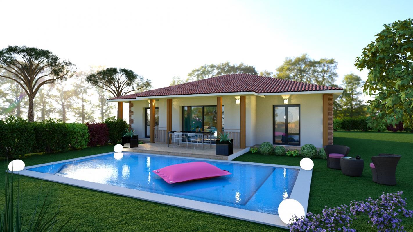 Maisons + Terrains du constructeur MAISONS SANEM • 93 m² • LA TESTE DE BUCH