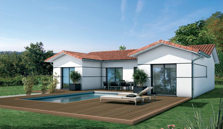 Maisons + Terrains du constructeur MAISONS SANEM • 95 m² • LUDON MEDOC
