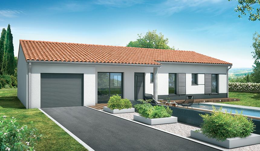 Maisons + Terrains du constructeur MAISONS SANEM • 110 m² • SAINT ANDRE DE CUBZAC