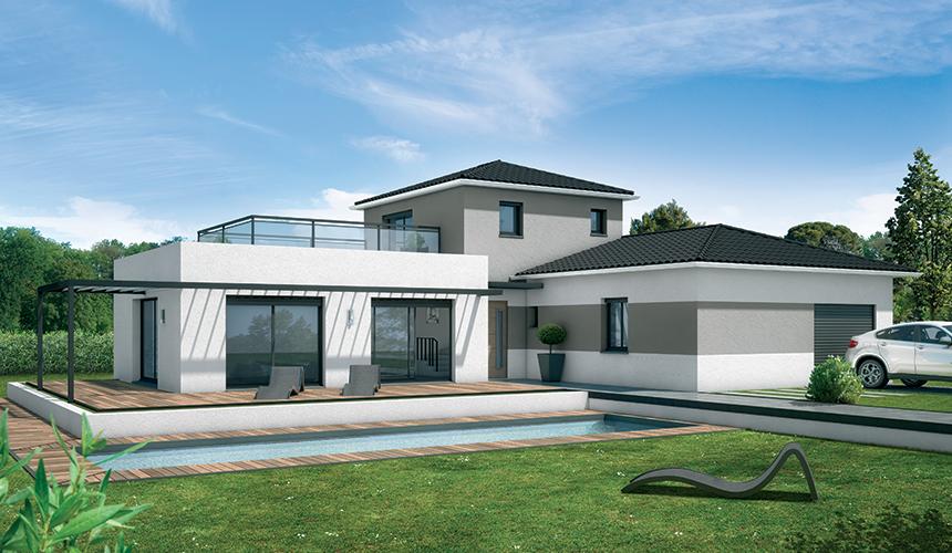 Maisons + Terrains du constructeur MAISONS SANEM • 105 m² • LE TAILLAN MEDOC