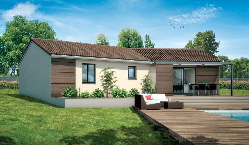 Maisons + Terrains du constructeur MAISONS SANEM • 89 m² • SAINT SULPICE ET CAMEYRAC