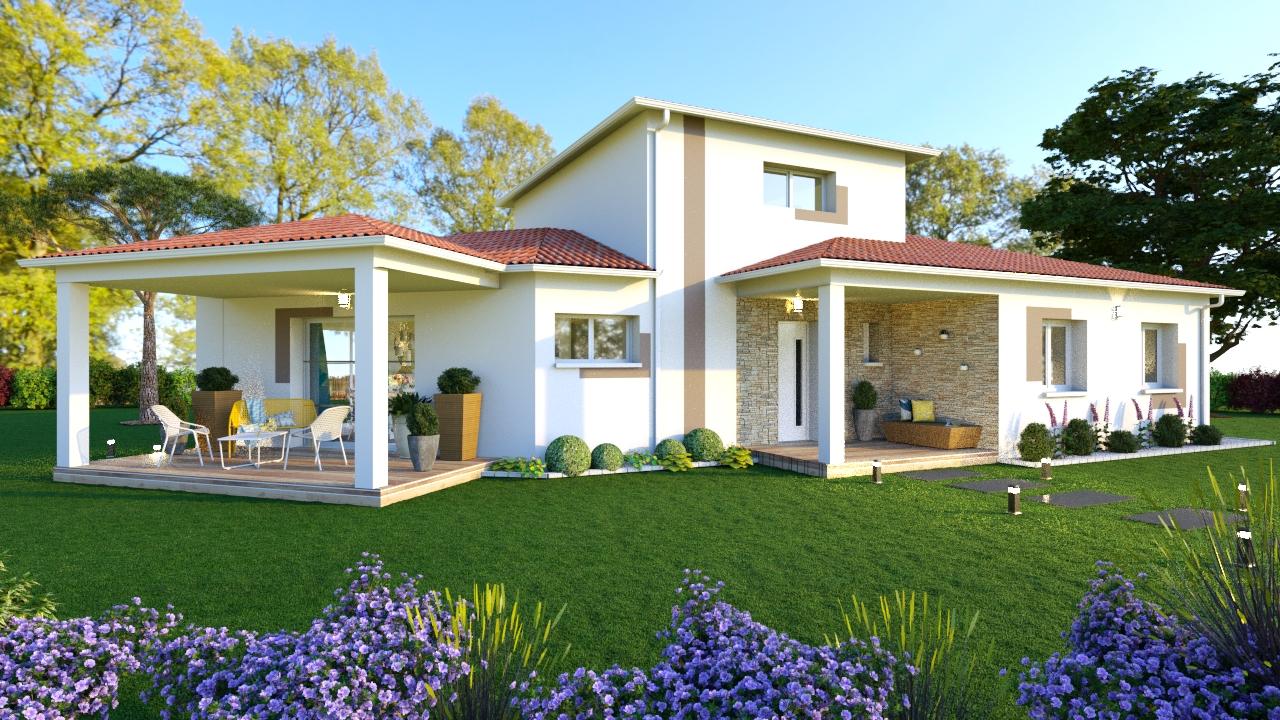Maisons + Terrains du constructeur MAISONS SANEM • 121 m² • PYLA SUR MER