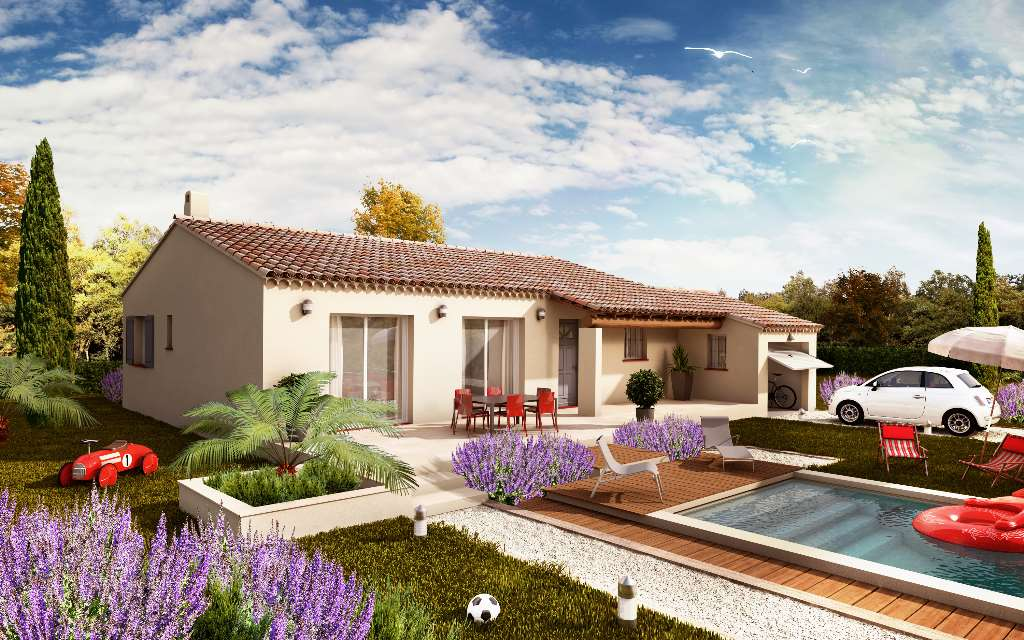 Maisons du constructeur VILLAS LA PROVENCALE • 99 m² • RAPHELE LES ARLES