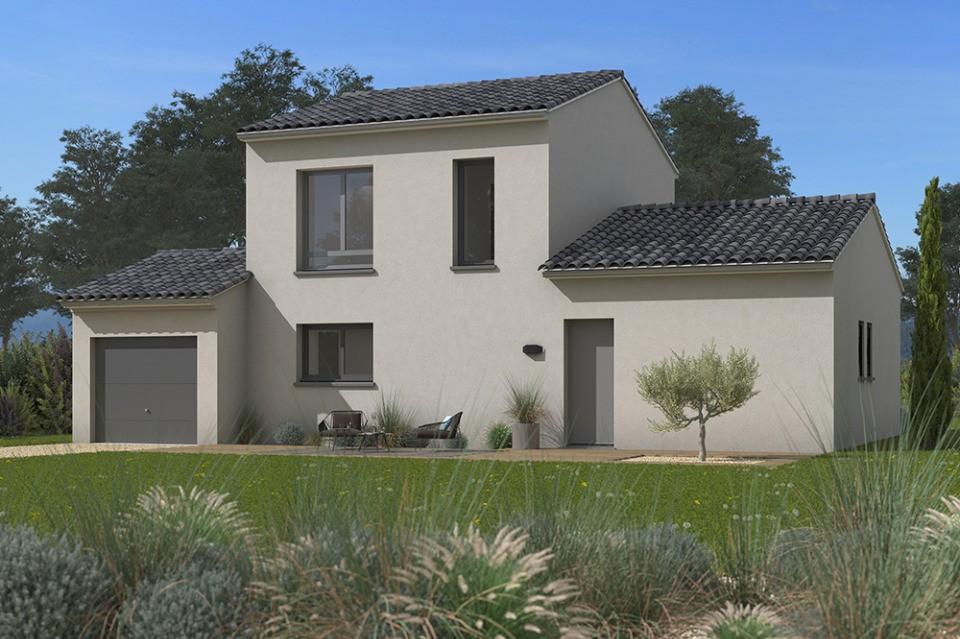 Maisons + Terrains du constructeur MAISONS FRANCE CONFORT • 100 m² • PUJAUDRAN