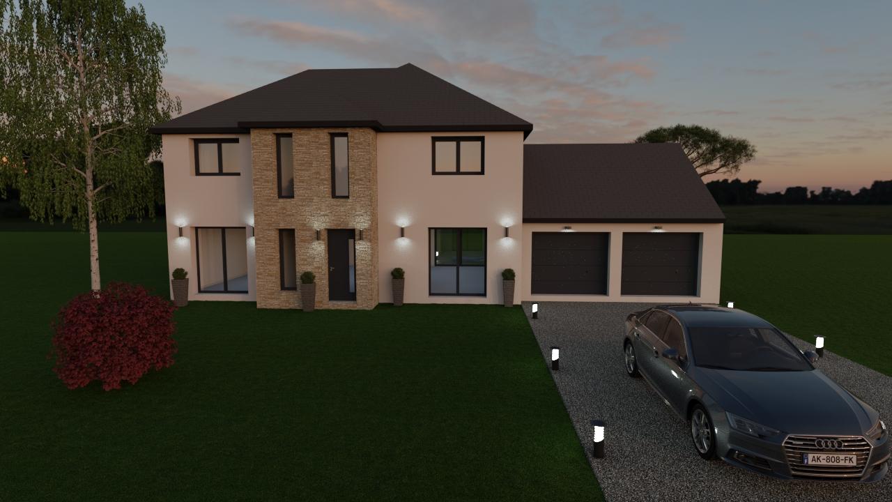 Maisons du constructeur LES MAISONS BARBEY MAILLARD • 140 m² • POMPONNE