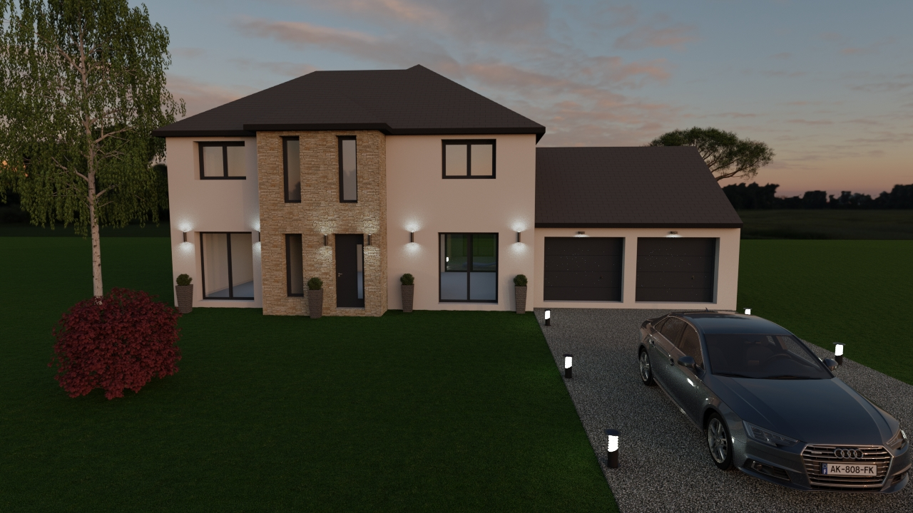 Maisons du constructeur LES MAISONS BARBEY MAILLARD • 135 m² • OZOIR LA FERRIERE