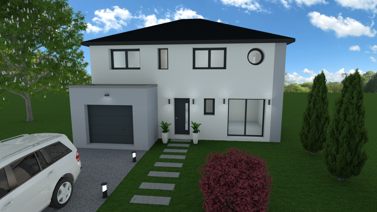 Maisons du constructeur LES MAISONS BARBEY MAILLARD • 108 m² • MAREUIL LES MEAUX