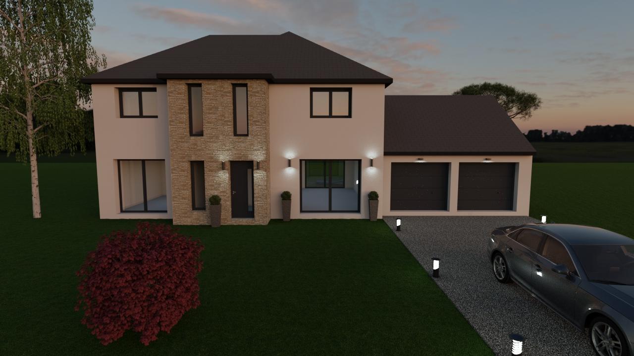Maisons du constructeur LES MAISONS BARBEY MAILLARD • 145 m² • BUSSY SAINT MARTIN