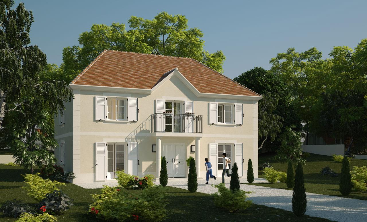 Maisons du constructeur LES MAISONS BARBEY MAILLARD • 122 m² • ROZAY EN BRIE