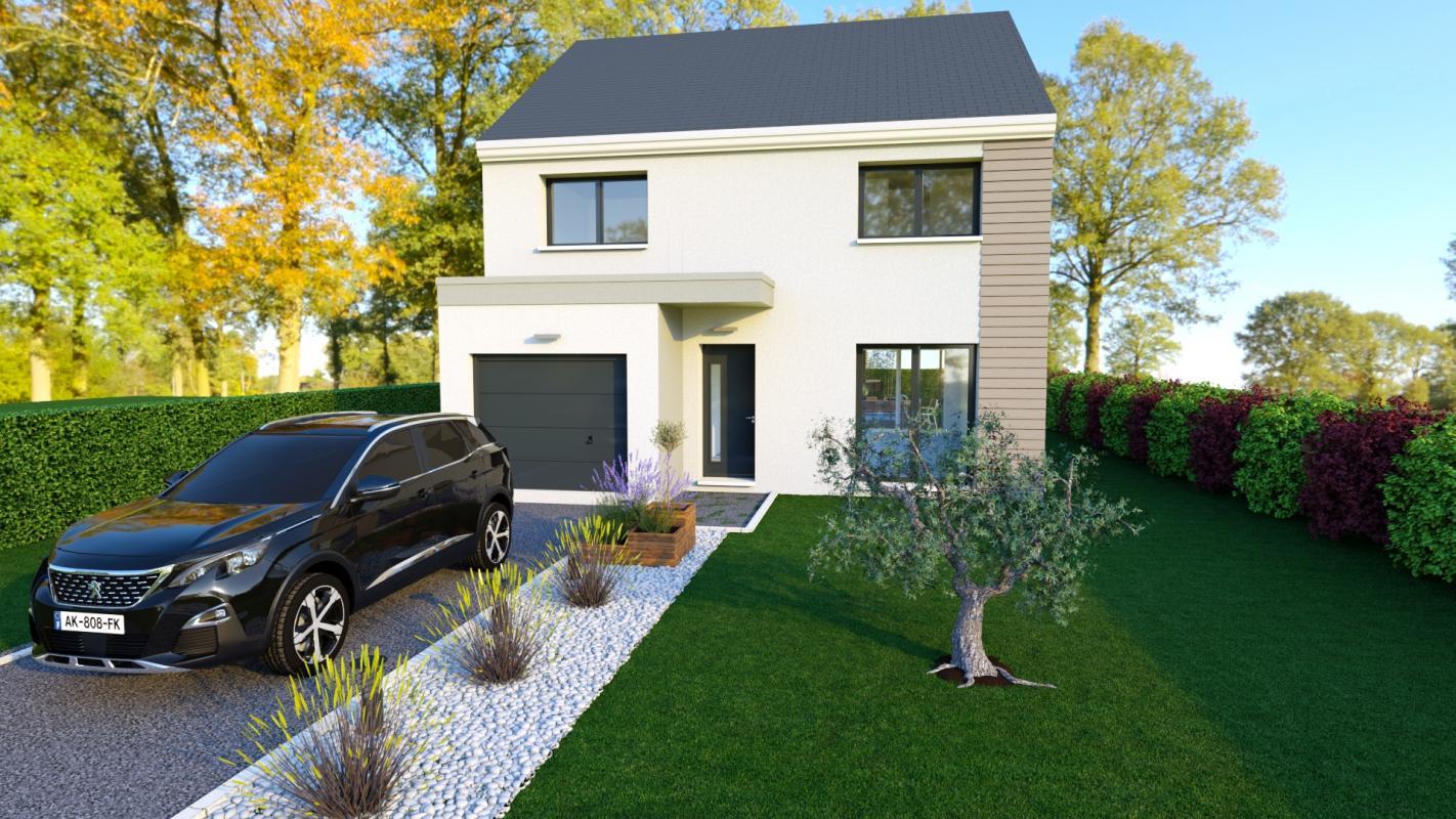 Maisons du constructeur LES MAISONS BARBEY MAILLARD • 100 m² • VAUX LE PENIL