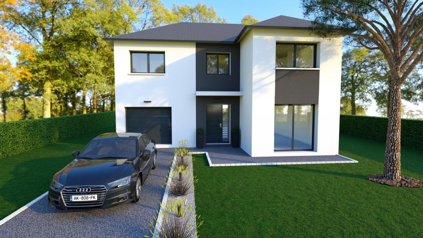 Maisons du constructeur LES MAISONS BARBEY MAILLARD • 120 m² • VAUX LE PENIL