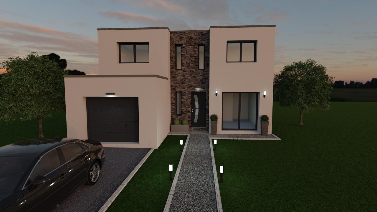 Maisons du constructeur LES MAISONS BARBEY MAILLARD • 145 m² • GOUVERNES