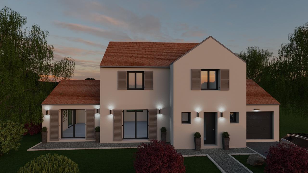 Maisons du constructeur LES MAISONS BARBEY MAILLARD • 156 m² • BUSSY SAINT MARTIN